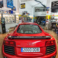 Un Audi R8 visita Electric Garatge  Fotografia Andreu Gual