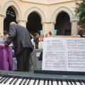 Muestra reportaje celebración 60 aniversario matrimonio. Capella del Claustre i Seminari Tarragona. Fotografia Andreu Gual