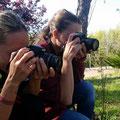 Curso basico de fotografia digital.  Con Yolanda y Montse