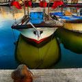 Barcas de Pesca en El Serrallo. Tarragona. Fotografia Andreu Gual