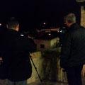 Haciendo practicas nocturnas en el curso basico de fotografia . Foto: Andreu Gual