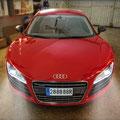 Audi R8. Instal·lacio de nous sistemes electronics a Electric Garatge. Fotografia Andreu Gual