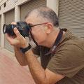 Curso basico de fotografia digital.  Tarragona, con Francisco.