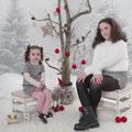 Sesiones de Navidad. Fotografia Andreu Gual. Ariadna i Noa