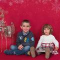 Sesiones de Navidad- Tarragona.  Fotografía Andreu Gual.  Raul i Alba