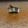 """""""Lombart"""" Faenando por el puerto de Tarragona. Fotografia Andreu Gual"""