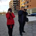 Curso basico de fotografia digital.  Tarragona, con Ramon y Alexandra.