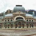 Estación Internacional de Canfranc. Huesca. Fotografía Andreu Gual.