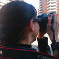 Marta, ultimo dia sin Reflex... Practicas diurnas del Curso Basico de Fotografia digital. Fotografia Andreu Gual