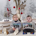 Sesiones de Navidad. Fotografia Andreu Gual. Yerai y Dylan