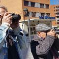 Curso basico de fotografia digital.  Tarragona, con Angel y Máximo.