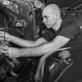 Electricgaratge, Reparació i restauració vehicles d'epoca. Tarragona. Fotografía Andreu Gual