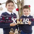 Sesiones de Navidad. Fotografia Andreu Gual. Toni i Martí.