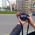 Con Xavier exprimimos al máximo su Bridge. Fotografía : Andreu Gual.