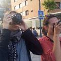 Curso basico de fotografia digital.  Con Mireia y Marta