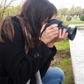 Judit, SIN CHULETA !!!,  al final lo consiguió, como no !  Curso básico de fotografía digital. Foto: Andreu Gual