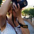 Liliana, Practicas diurnas del curso básico de fotografía Digital. Foto: Andreu Gual.