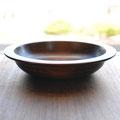 摺り漆リム深皿 材ハンノキ