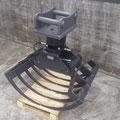 Mistzange 70cm, Festanbau Bagger