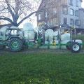 CT4.6-7S und Eigenoelversorgung an Bührer Traktor
