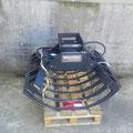 Mistzange 70cm mit Cancini Benne Baggeradapter