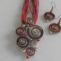 Spirale | Kette + Ohrringe