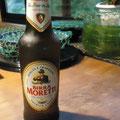 イタリア人気ビール 「ビッラ・モレッティ」・・・¥500- お持ち帰り ¥350-