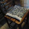 川寺からの古い椅子ですが・・・リフォームして♪