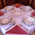 Servicio de comidas y cenas a petición del cliente.