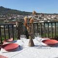 Amplia terraza con maravillosas vistas para tomar...