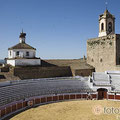 Fregenal de la Sierra. Conjunto histórico. Castillo-Plaza de toros, iglesias, conventos, ermitas, calles... 45 Kms.