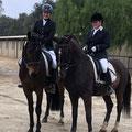 Auf dem Turnier mit unseren jungen Pferden