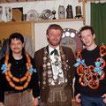 Jahr 2002: Schützenkönig: Weidel Michael, Wurstkönig: Kagerer Andreas, Brezenkönig: Brunner Michael