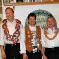Jahr 2004: Schützenkönig: Kagerer Andreas, Wurstkönig; Brunner Karl-Heinz, Brezenkönig: Vollmer Michael