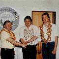 Jahr 1989: Schützenkönig Deutinger Franz, Wurstkönig: Brunner Karl-Heinz, Brezenkönig: Gaiser Kurt jun.