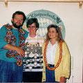 Jahr 1993: Schützenkönigin: Weißacher Gabi, Wurstkönigin: Krategl Claudia, Brezenkönig: Effkemann Dieter