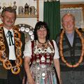 Jahr 2009: Schützenkönigin: Weidel Renate, Wurstkönig: Gaiser Kurt Sen., Brezenkönig: Weidel Michael