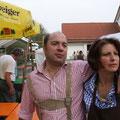 Geschafft: Georg u. Marion Lippacher freuen sich, dass Alles geklappt hat.
