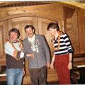 Jahr 1983: Schützenkönig Lippachaer Andreas Sen., Wurstkönig: Kurt Gaiser jun., Brezenkönig: Jeske Hermann
