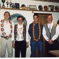 Jahr 2001: Schützenkönig: Kagerer Gottfried, Wurstkönig: Graßl Martin, Brezenkönig: Vollmer Michael