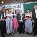 Jahr 2011: Schützenkönigin: Lang Jutta, Wurstkönig: Brunner Karl-Heinz, Brezenkönigin: Weidel Renate