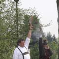 Die Hartholzschützen sind auch dabei
