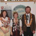 Jahr 2003: Schützenkönigin: Hermann Karin, Wurstkönig: Weidel Michael, Brezenkönigin: Wittmann Carola