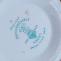 Vintage Crown Staffordshire Milch & Zucker Set