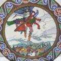 """Porzellan Wandteller Villeroy & Boch """"Russische Märchen """" 1983"""