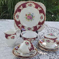 Mix & Match Vintage Porzellan Set aus England