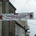 Festival des Musiques d'Eté (calicot)