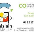 Identité graphique pour Ghislain Demailly