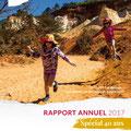 Mise en page du rapport annuel du Parc naturel régional du Luberon