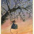 Printemps solitaire, printemps crépusculaire (VENDU)